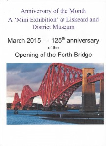 Anniversary of the Month - Forth Bridge