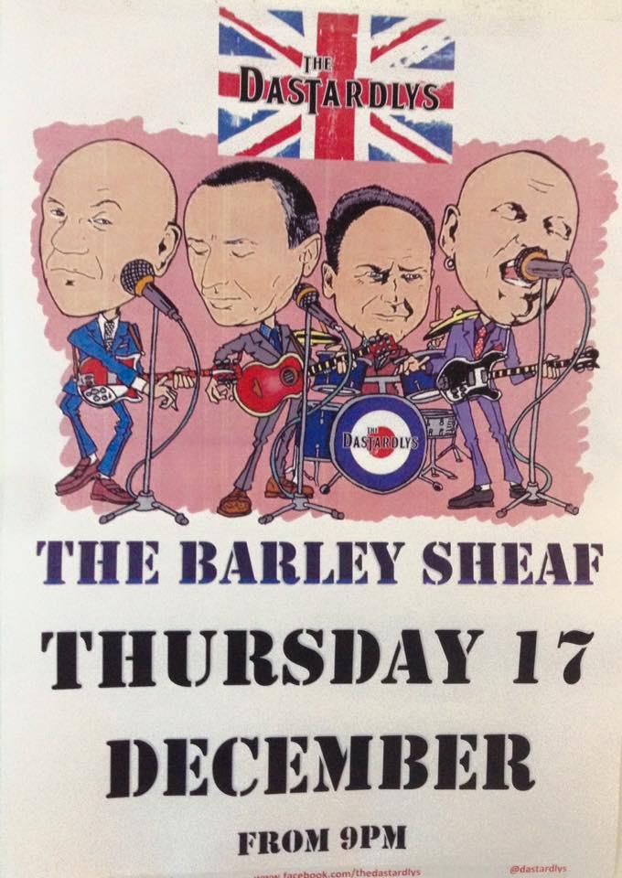 Barley Sheaf Dastardlys