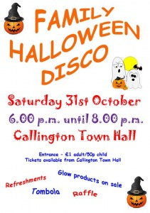 Callington Halloween Disco