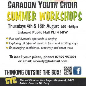 Caradon Youth Choir Poster