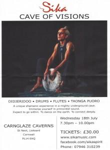 Carnglaze - Sika poster