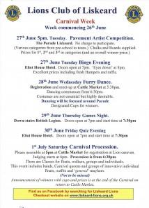 Carnival Programme