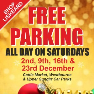 Christmas Free Parking 2017