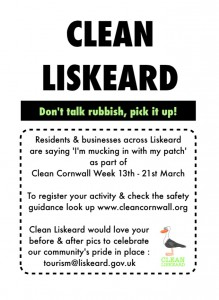 Clean Liskeard-Clean Cornwall week