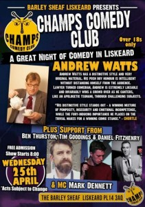 Comedy Night Barley Sheaf