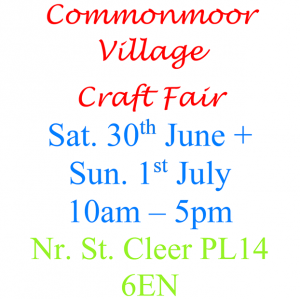 Commonmoor Craft Fair