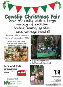Cowslip Galleries Xmas Fayre