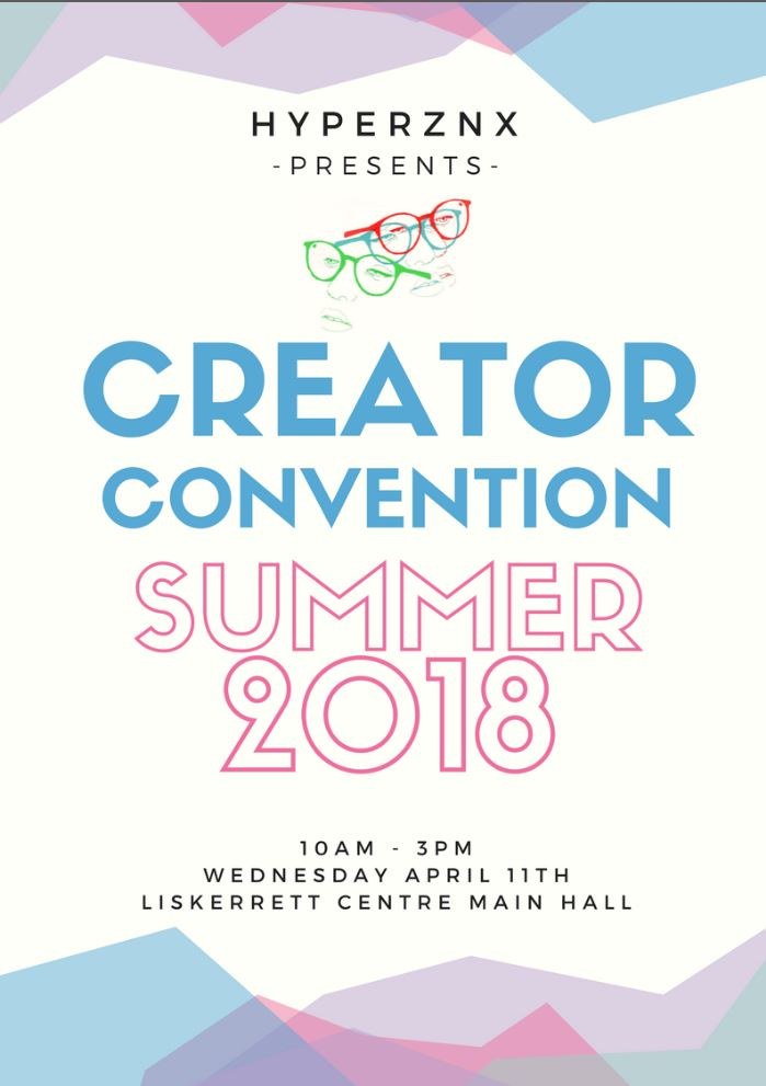 Creator convention