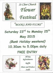 Flower Festival St Cleer Church