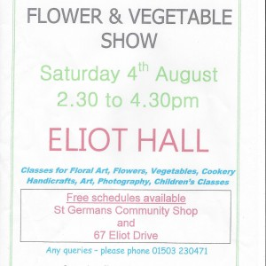 Flower Show at St Germans