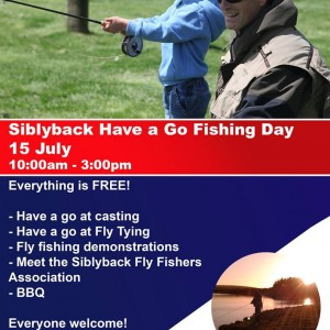 Fly fishing at Siblyback