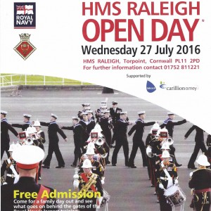 HMS Raleigh Open Day