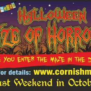 Halloween maze of horrors