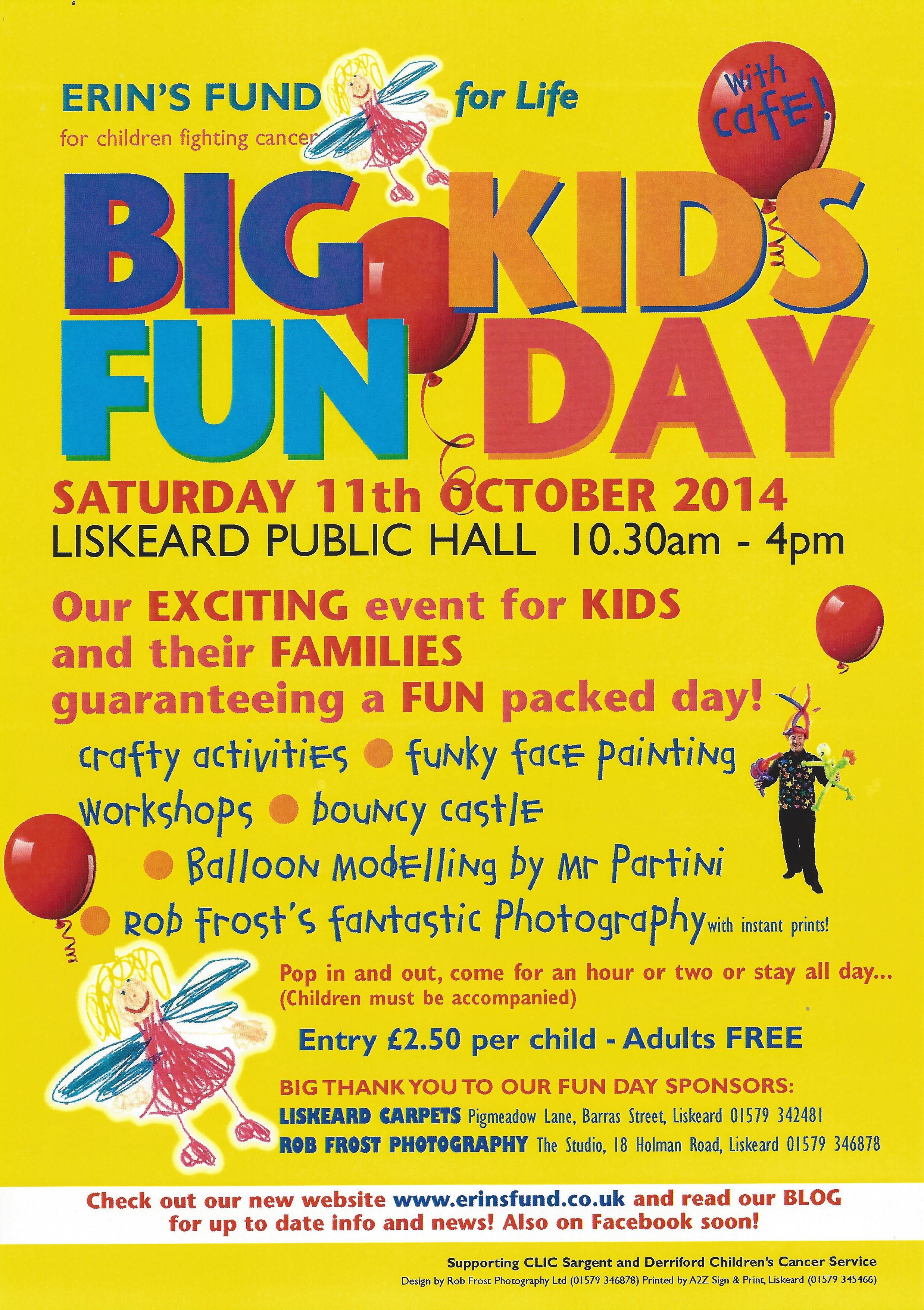 Big Kid's Fun Day | liskeard-visit