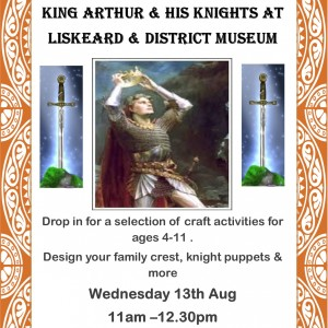 King Arthur & His Knights Summer Craft Activity