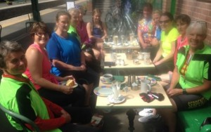 Ladies Cycle Group photo 2