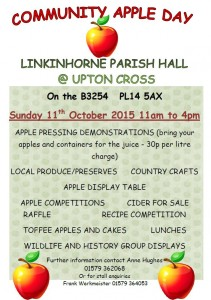 Linkinhorne Apple Day