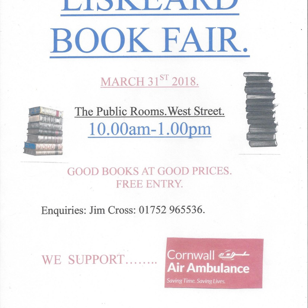 Liskeard Book Fair