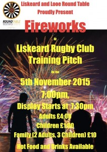 Liskeard Fireworks