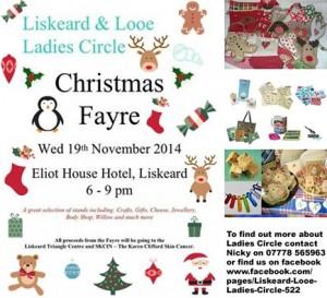 Liskeard & Looe Ladies Xmas Fayre