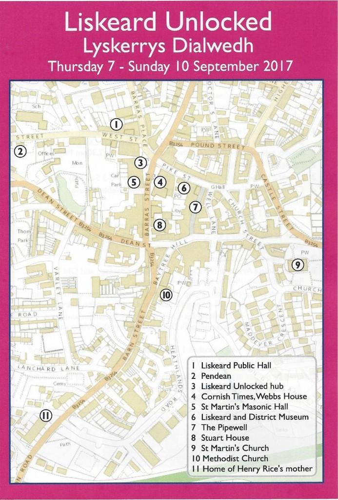 Liskeard Unlocked Map