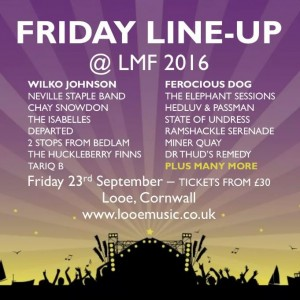 Looe Music Fest Friday