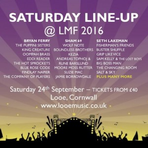 Looe Music Fest Saturday