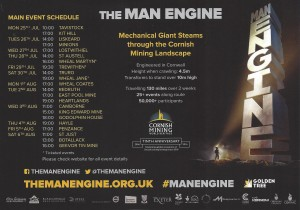 Man Engine - dates