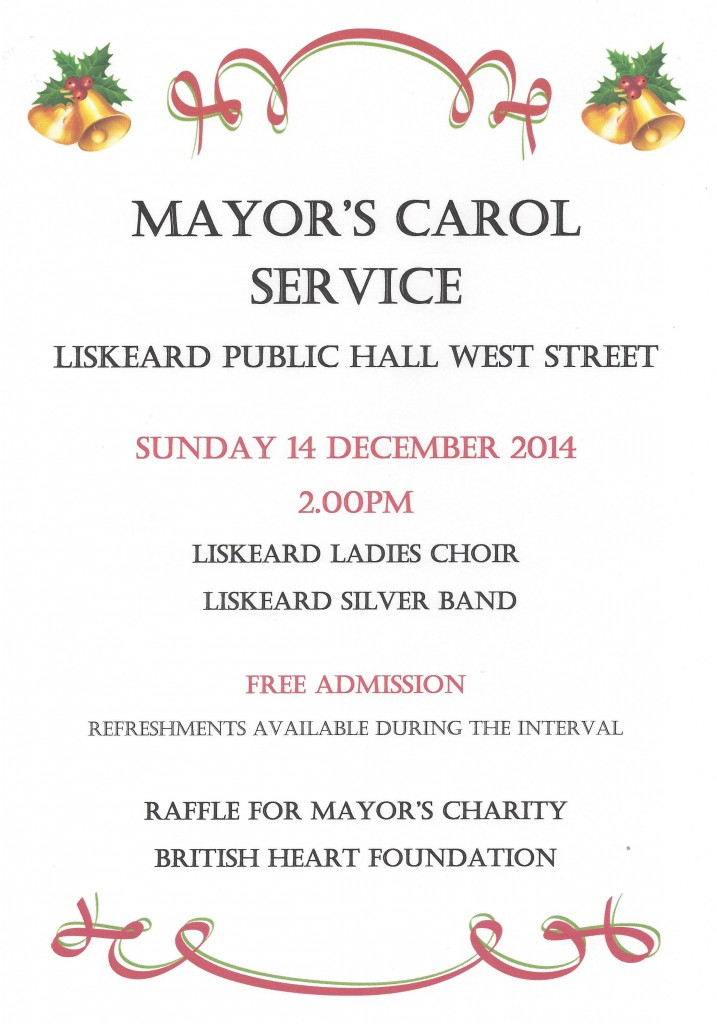 Mayors Christmas Carol Service