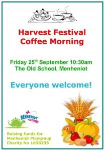 Menheniot Harvest Festival