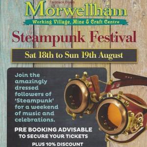 Morwellham Steampunk Festival