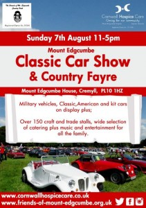 Mount Edgcumbe Car Show