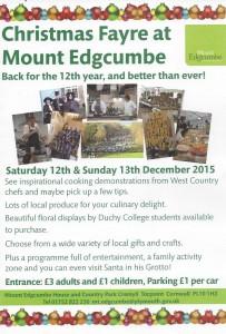 Mount Edgcumbe Xmas