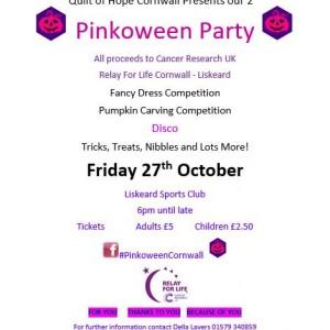 Pinkoween Party