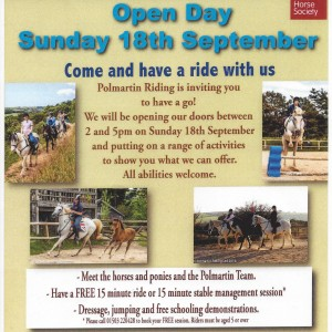 Polmartin Open Day