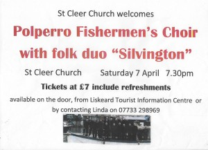 Polperro Choir poster