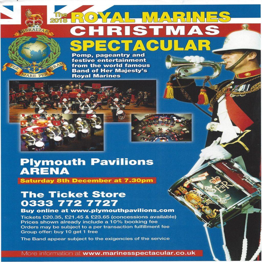 The 2018 Royal Marines Christmas Spectacular
