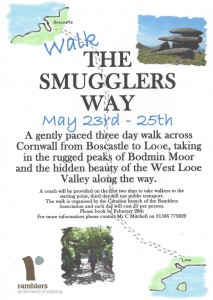 Smugglers Way Walk - Caradon Ramblers