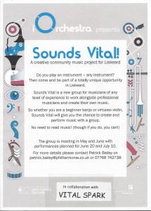 Sounds Vital Poster