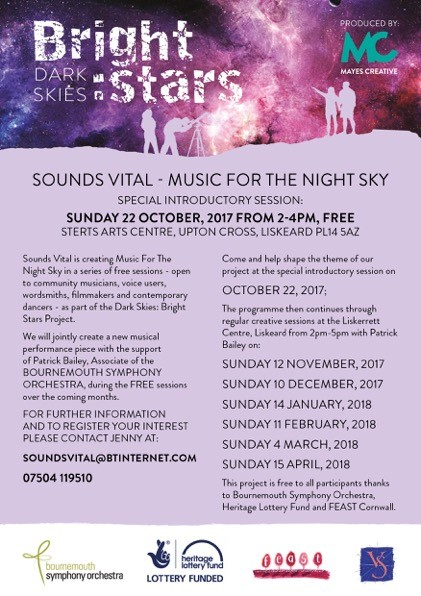Sounds Vital – Music For the Night Sky
