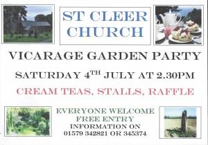 St Cleer Garden Party