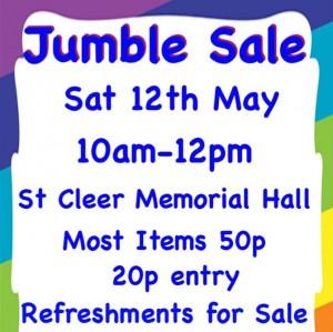 St Cleer Jumble Sale
