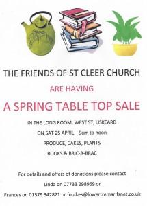 St Cleer Spring Sale