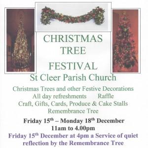 St Cleer Xmas Fest Poster