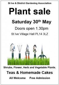 St Ive Plant Sale