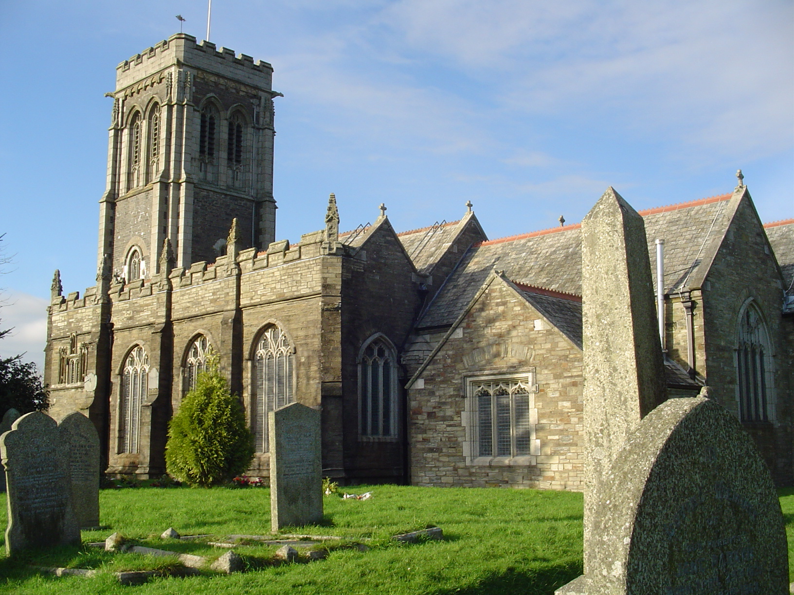 St Martin's Church I Rowe