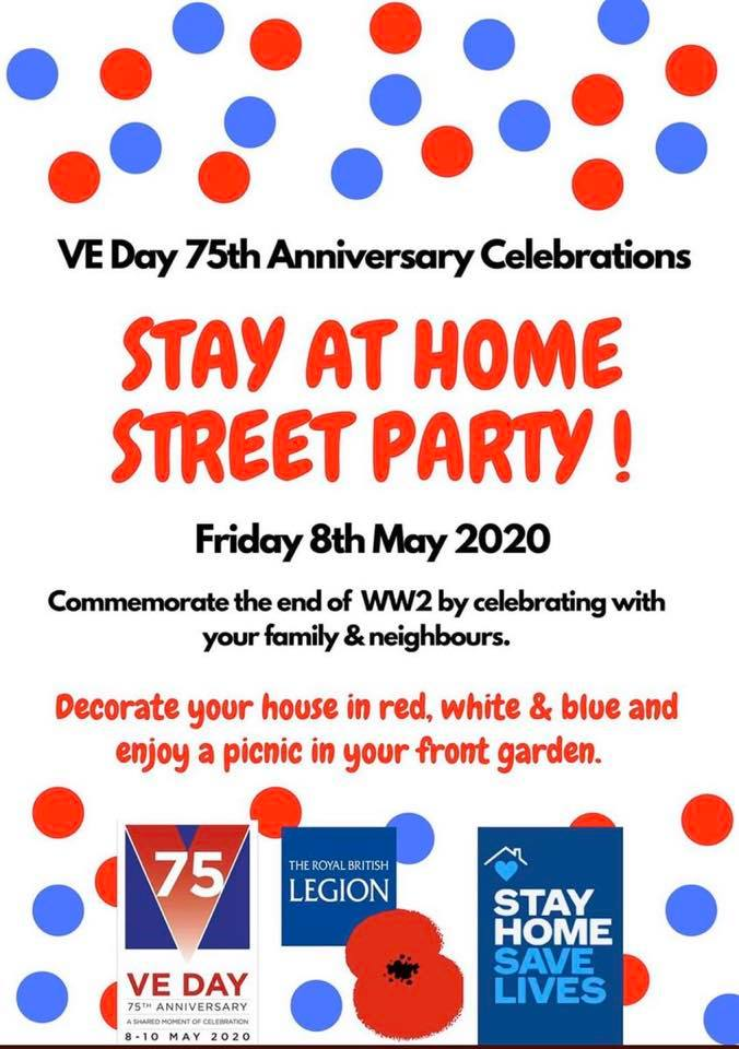 VE Day 75 - Stay at Home Street Party - Visit Liskeard