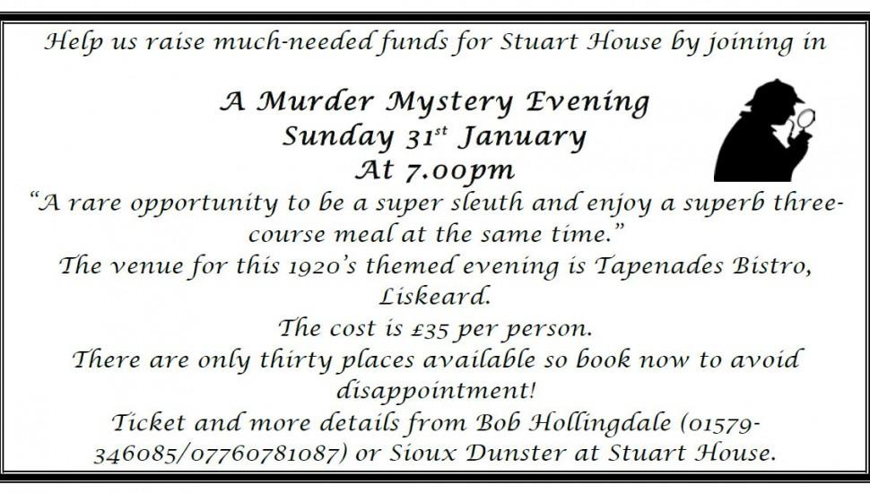 Stuart House Murder Mystery
