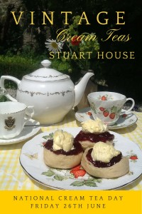 Stuart House National Cream Tea Day