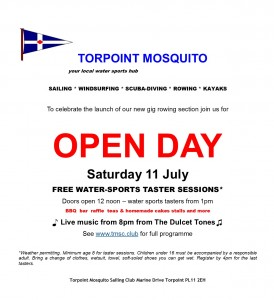 Torpoint Mosquito Open Day
